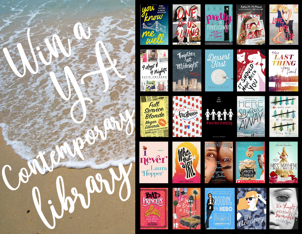 Win a YA Contemporary Library!